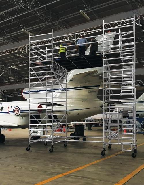 Manutenção em aeronaves