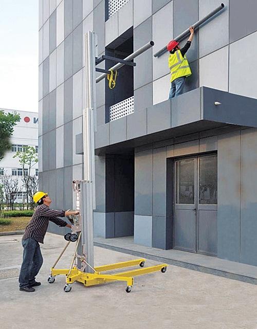 Trabalhos no exterior de edifícios