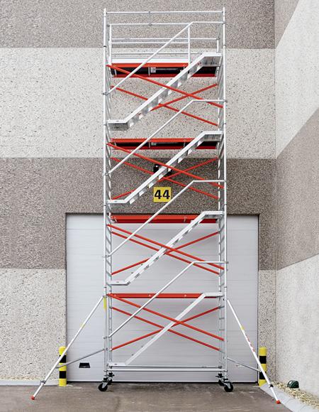 Torres c/ Escadas em Alumínio